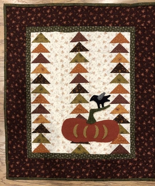 Fall Pumpkin Quilt - Wall Hanging Kit