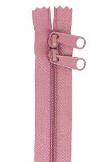 30 inch Zipper - Dbl Slide 247 Dusty Rose