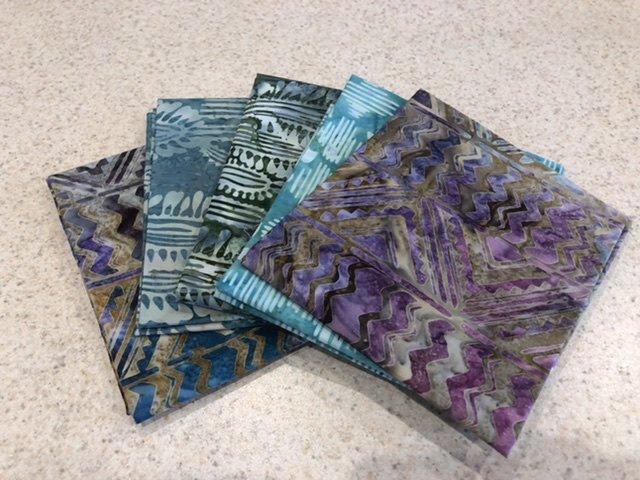 Batik Mix #2 - Five Pack