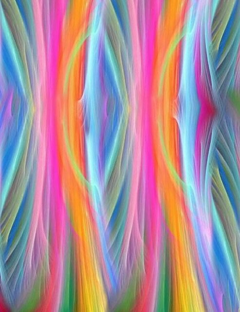 Painted Paradise - Swirl Stripes