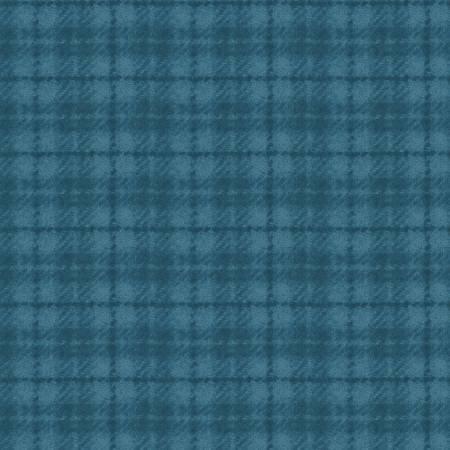 Woolies - 18502 Q Teal Plaid