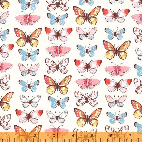 Farm Meadow - Butterflies Ivory