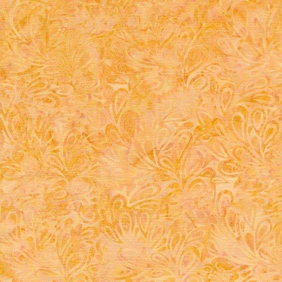 Island Batik - Paisley Drops Daffodil