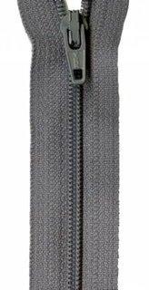 14 inch Zipper - 308 Grey Kitty