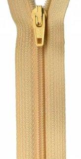 14 inch Zipper - 320 Buttercream