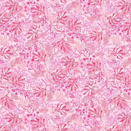 Blooming Ocean - Lt Pink Seaweed
