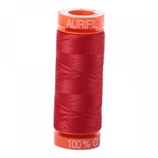 Small Aurifil - 2265 Lobster Red