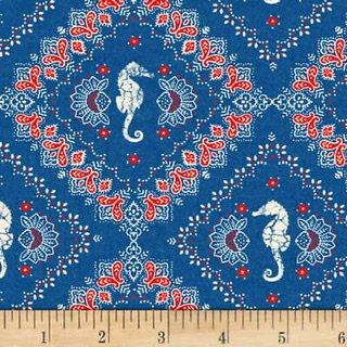 Shoreline - 50111- 1 Bandanna Dk Blue