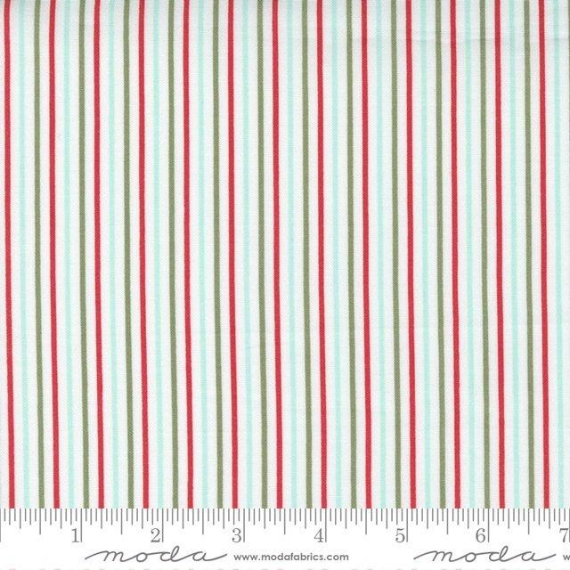 Christmas Morn Stripe Snow 5148 11