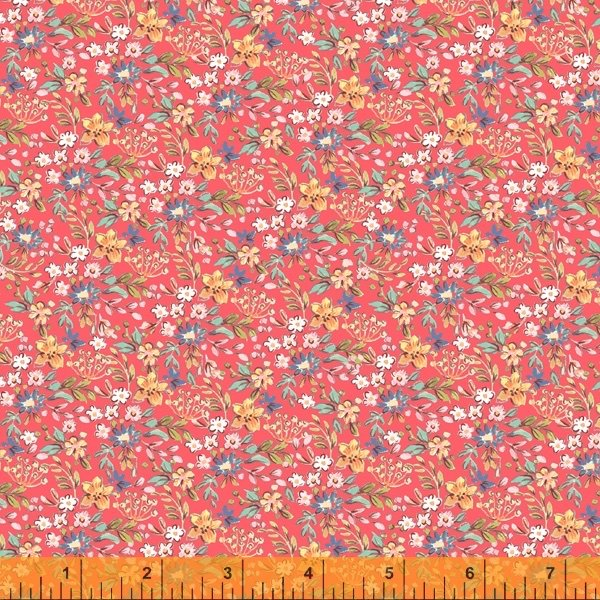 Farm Meadow - Floral Red