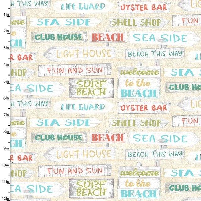 Beach Travel - Signs