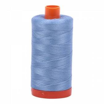 Large Aurifil 50WT - 2720 Light Delft Blue