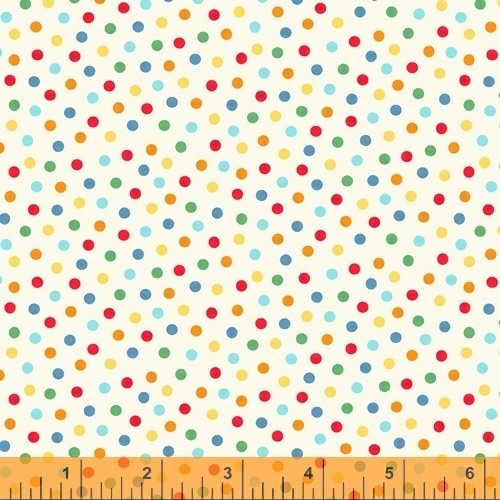 A to Zoo - Dots - Cream
