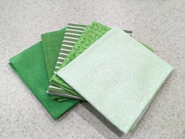 Green #3  - Five Pack