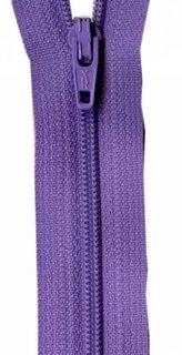 14 inch Zipper - 341 Princess Purple