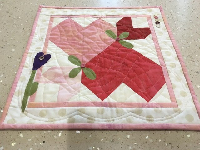 Hearts for Cheri Kit (Primitive Quilts)
