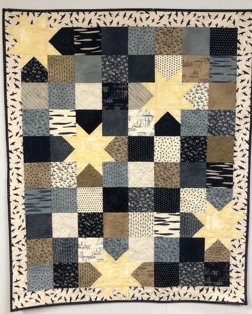 Oh My Stars - Ebb and Flow Quilt Kit