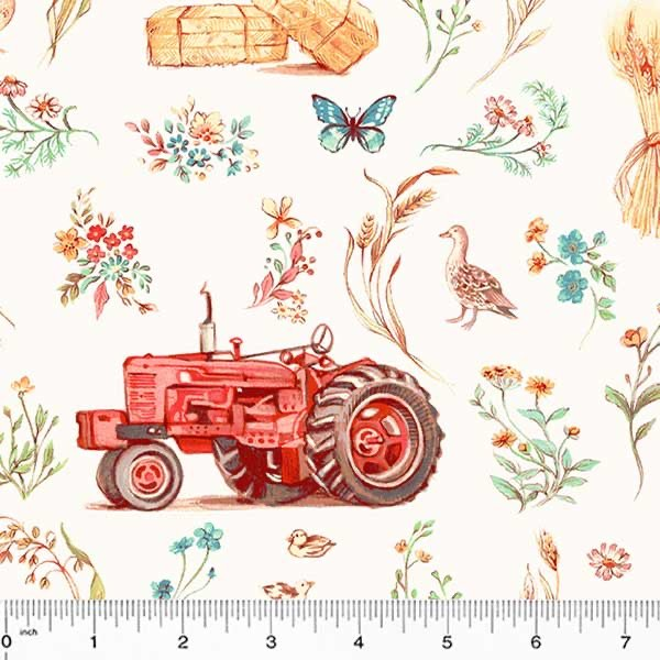 Farm Meadow - Farm Scene