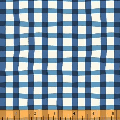 A to Zoo - Loose Gingham - Dk Blue