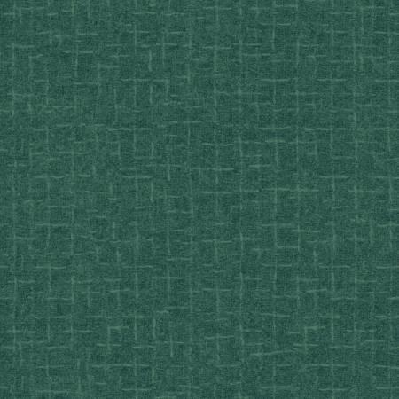 Woolies - 18510 Q Teal Crosshatch