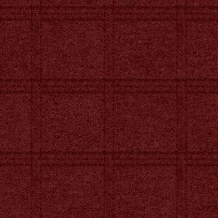 Woolies - 18511 R Dp Red Tartan Grid