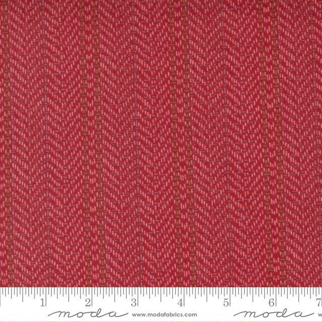 YG -Herringbone - Red 49141 12F