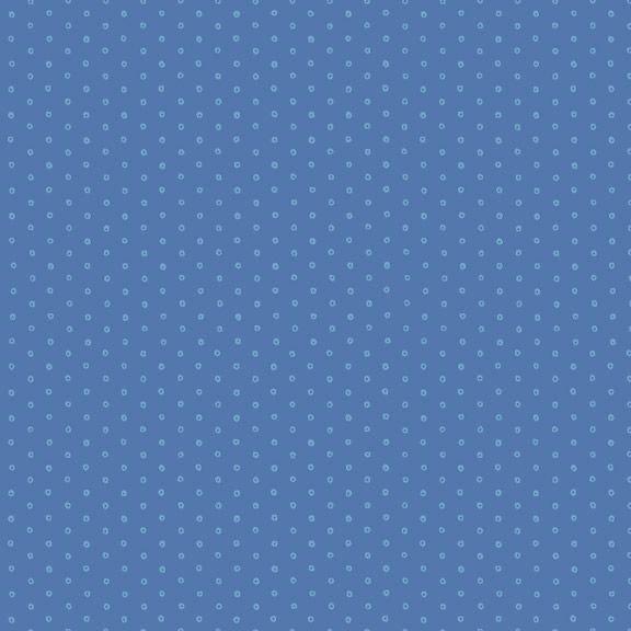 Yellow Sky-Circle Dot - Blue 2131