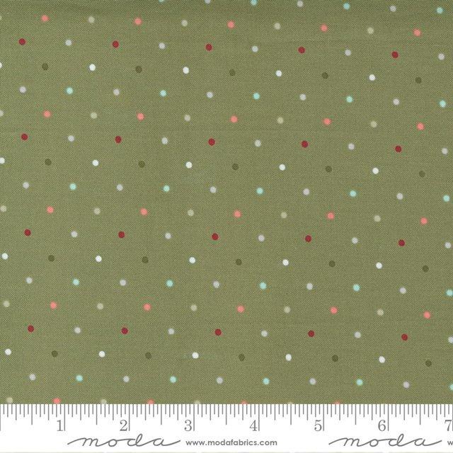 Christmas Morn Dots Pine 5147 15