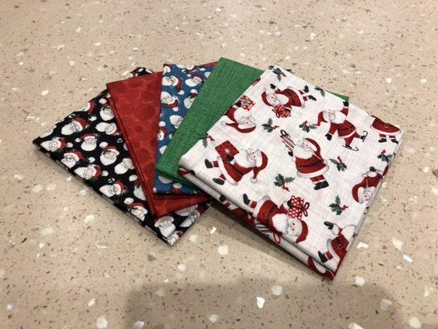 Santas - Five Pack