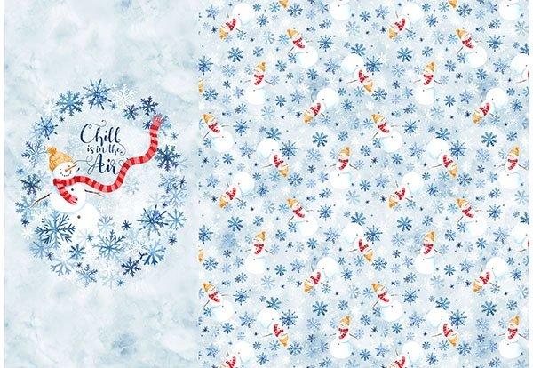 Celebrate The Seasons - January Panel (43 x 63)
