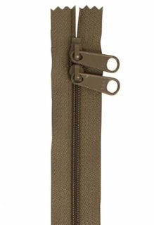 30 inch Zipper - Dbl Slide 160 Khaki