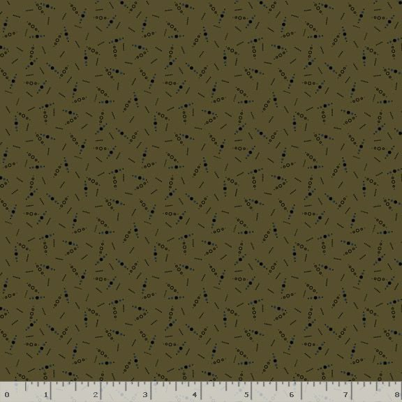 Country Meadow-Country Dots - Green 1711