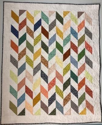Charming Herringbone Quilt Kit