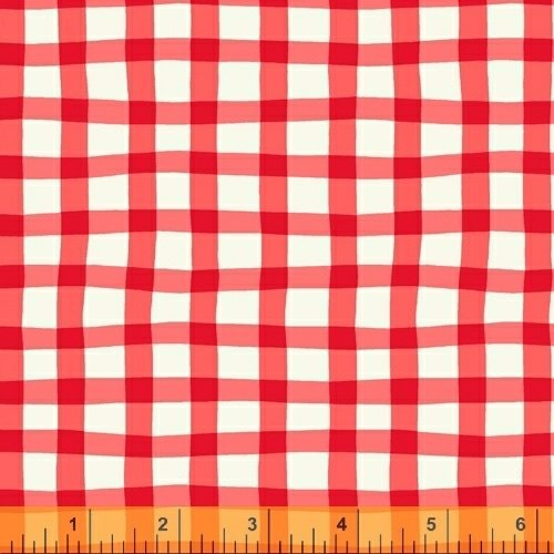 A to Zoo - Loose Gingham - Red