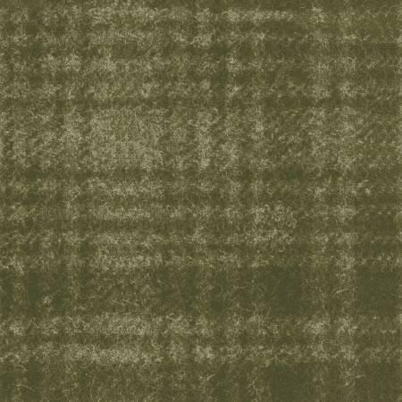 Woolies - 18501 G2 Green Windowpane