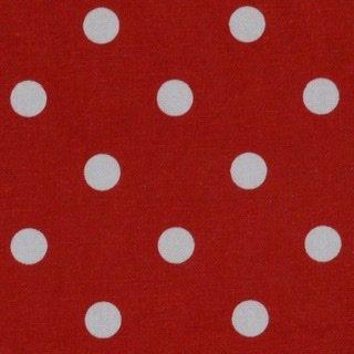 Tea Towels - Polka Dot Bright Red
