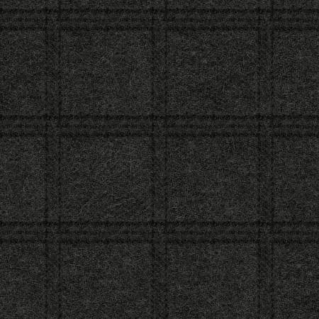 Woolies - 18511 JK Charcoal Tartan Grid