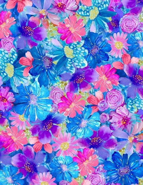 Painted Paradise - Small Floral Multi