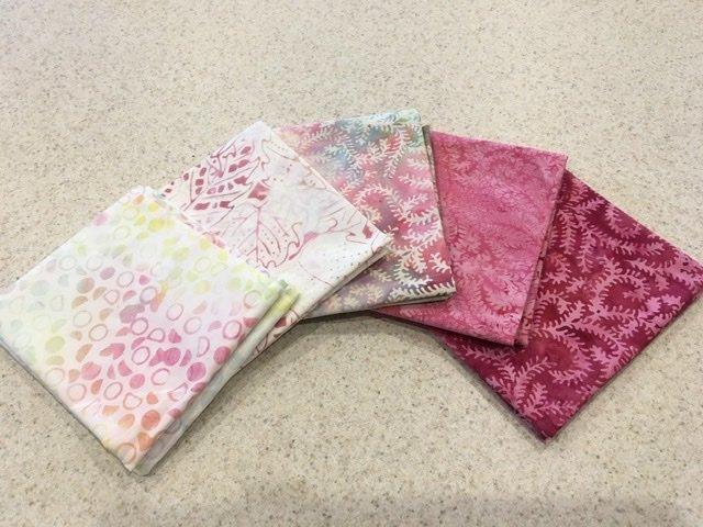 Batik Pink - Five Pack
