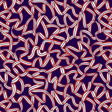 American Style - 5491-77 Dk Blue Patriotic Ribbon