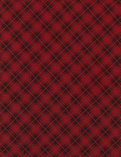 Holiday Bias Plaid - Red
