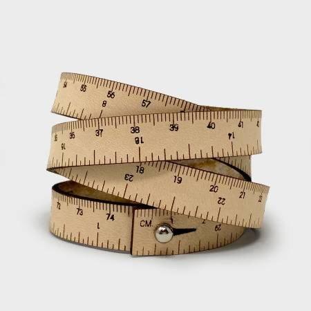 Wrist Ruler 15 inch Natural