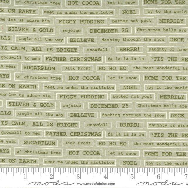 Christmas Morn Words Sage 5145 14