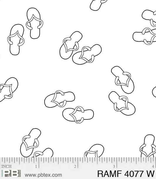 Ramblings Fun - 4077 Flip Flops