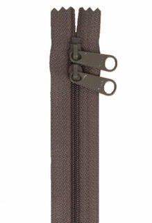 30 inch Zipper - Dbl Slide 120 Slate Gray