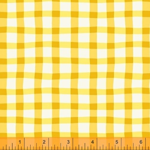 A to Zoo - Loose Gingham - Yellow