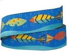 Fish in Blue Sea & Wave - 7/8