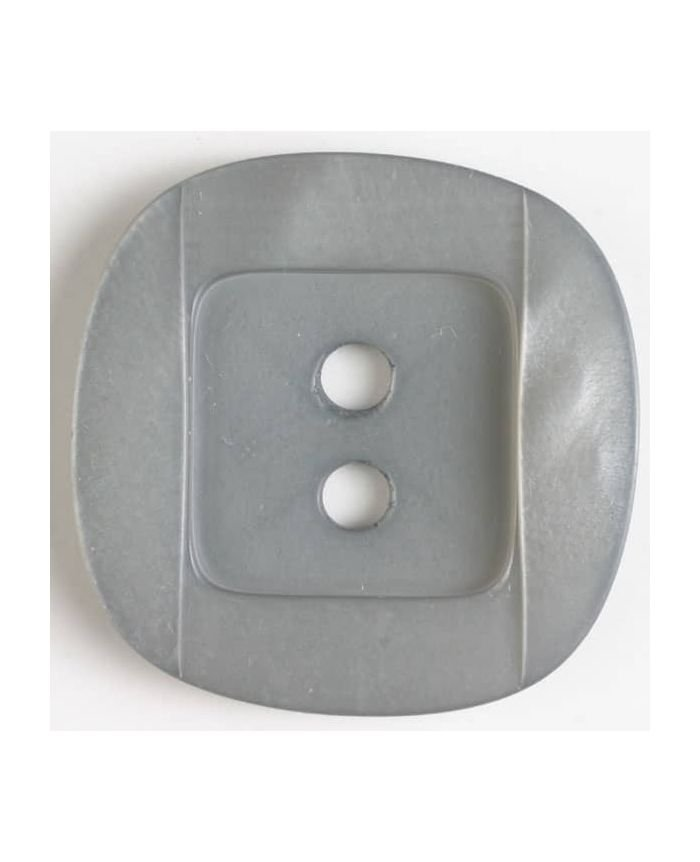 Polyester button 25mm Grey
