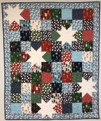 Oh My Stars - Jolly Season Quilt Kit
