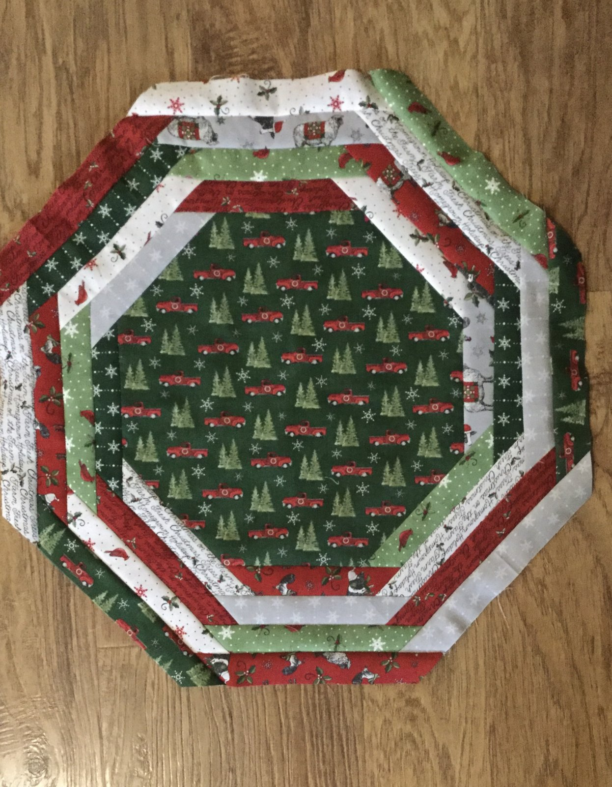 Homegrown Holidays CP Tablemat - (Pattern Sold Separately)